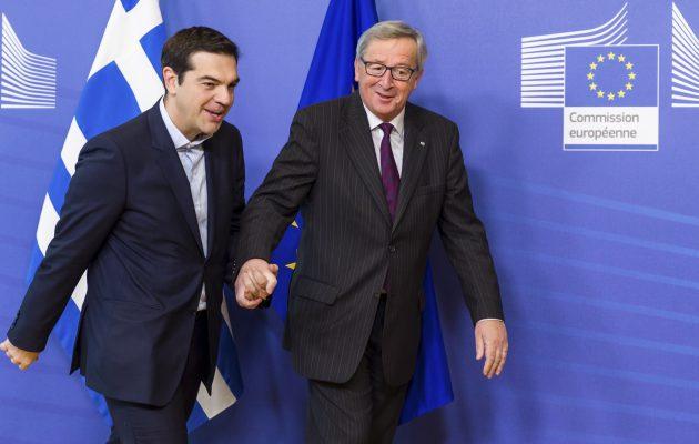 Γιούνκερ: Αποτίω φόρο τιμής στον ελληνικό λαό – Η συμφωνία ανοίγει νέο δρόμο