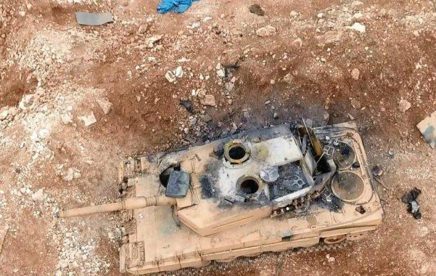 Μεγάλη ήττα του τουρκικού στρατού στη βόρεια Συρία (φωτο)
