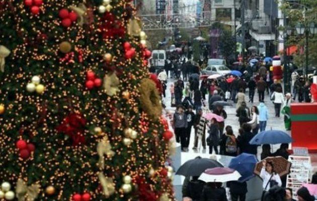 Ξεκινά το εορταστικό ωράριο – Ανοιχτά τα καταστήματα τις δύο επόμενες Κυριακές