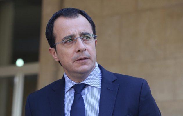 Χριστοδουλίδης: Η Τουρκία θέτει σε σοβαρό κίνδυνο τη σταθερότητα και την ασφάλεια στην Αν. Μεσόγειο