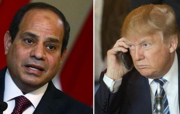 Γιατί ο Τραμπ κάλεσε τον Σίσι στην Ουάσιγκτον