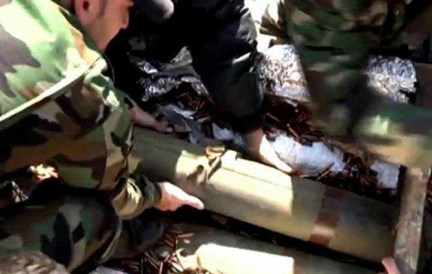 Οι Σύροι έπιασαν φορτίο με αμερικανικής κατασκευής αντιαρματικά προς την Αλ Κάιντα