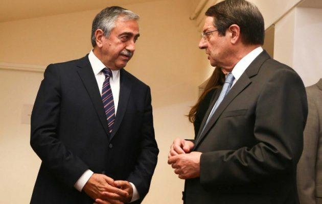 Αναστασιάδης: Υπάρχουν διαφωνίες με τον Ακιντζί για την επανέναρξη διαπραγματεύσεων