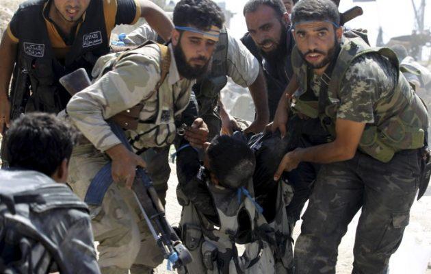 Τζιχαντιστές της Τζαΐς Αλ Ίζα αποπειράθηκαν να επιτεθούν στη χριστιανική πόλη Μαχάρντα στη Συρία