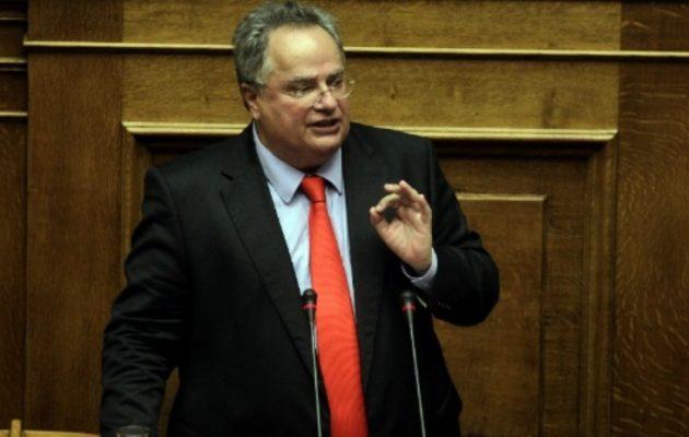 Νίκος Κοτζιάς: Η Ελλάδα υποστηρίζει την ασφάλεια και τη σταθερότητα στα Σκόπια