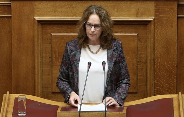 Παπανάτσιου: Τέλος στην ευνοϊκή φορολογική μεταχείριση των βουλευτών