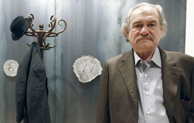 Πέθανε ο πρωτοπόρος της «arte povera» Γιάννης Κουνέλλης