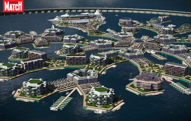 Artisanopolis: Η πρώτη πλωτή πόλη ετοιμάζεται στον Ειρηνικό (βίντεο)
