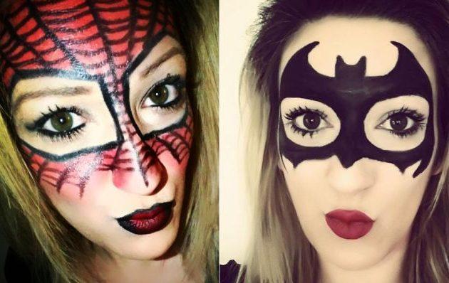 Απόκριες: Εντυπωσιάστε κάνοντας μόνη σας μάσκα… Batwoman και Spiderwoman