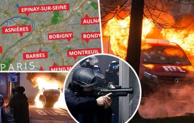 Κάθε βράδυ πέφτει ξύλο στο Παρίσι – Οργή για τον βιασμό 22χρονου από αστυνομικό