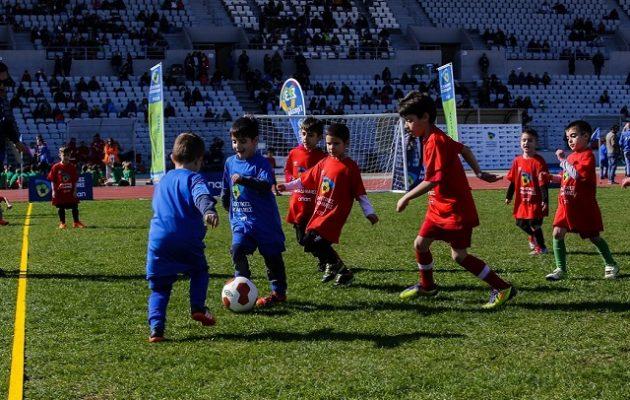 ΟΠΑΠ: Δεύτερη μεγάλη γιορτή του αθλητισμού στην Πάτρα με τη συμμετοχή 1.100 παιδιών