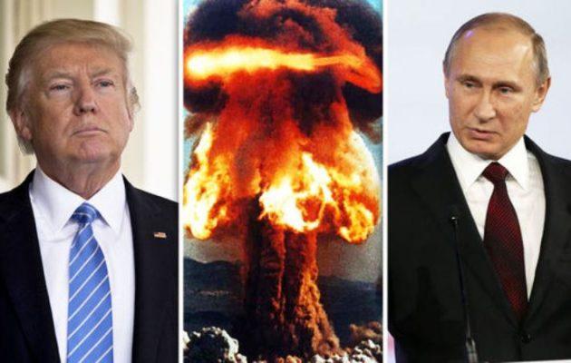 Ντόναλντ Τραμπ: Εάν δεν τα «βρούμε» με τη Ρωσία ίσως να συμβεί πυρηνικός πόλεμος