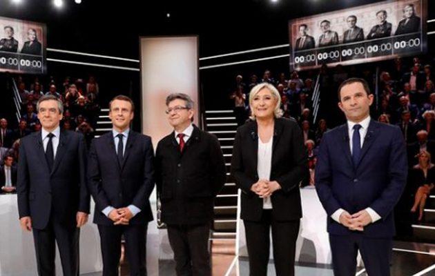Γαλλικό ντιμπέιτ: Λεπέν: Δεν θα γίνω η αντικαγκελάριος της Mέρκελ – Αυξήσεις υποσχέθηκε ο Mακρόν