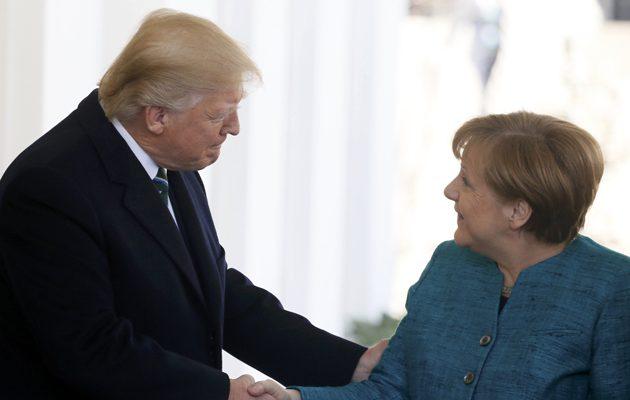 Η Μέρκελ πετάει το γάντι στον Τραμπ και επιμένει: Θέλουμε ελεύθερο εμπόριο και ανοιχτές αγορές