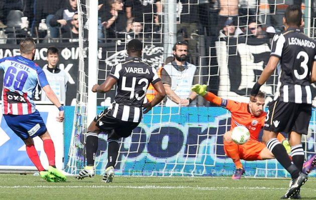 Στις καθυστερήσεις κατάφερε ο ΠΑΟΚ να νικήσει 1-0 τον Πανιώνιο στην Τούμπα