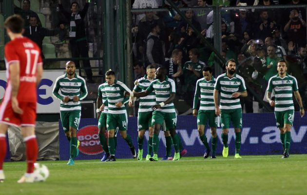 «Πράσινο» το ντέρμπι – Ο Παναθηναϊκός υπέταξε τον Ολυμπιακό με 1-0
