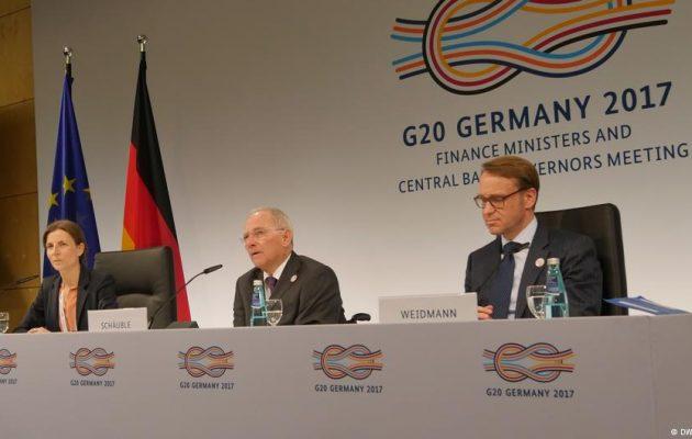 DW: ΗΠΑ εναντίον όλων για το ελεύθερο εμπόριο στους G20