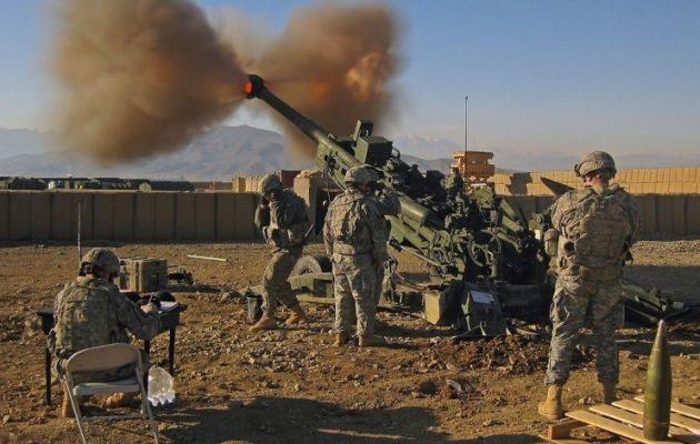 Το αμερικανικό πυροβολικό αποσύρεται από τη Συρία – «Αποστολή ολοκληρώθηκε»