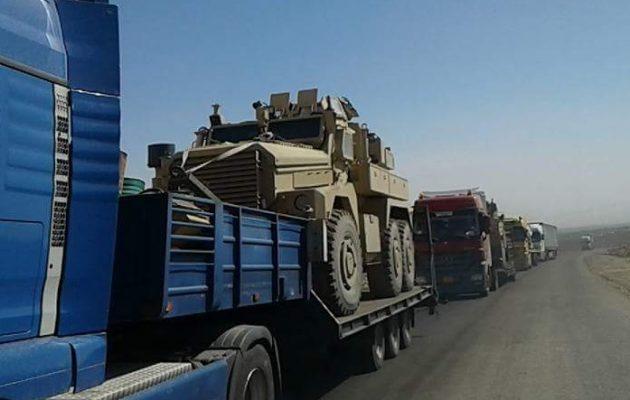250 τεθωρακισμένα παρέδωσαν τις τελευταίες ημέρες οι Αμερικανοί στους Κούρδους της Συρίας
