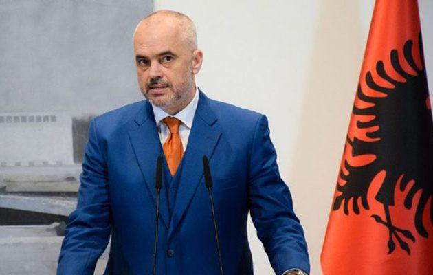 Ο Ράμα έθεσε θέμα «αρβανίτικης μειονότητας» στην Ελλάδα – Πρόκληση και προσβολή για τους Έλληνες Αρβανίτες