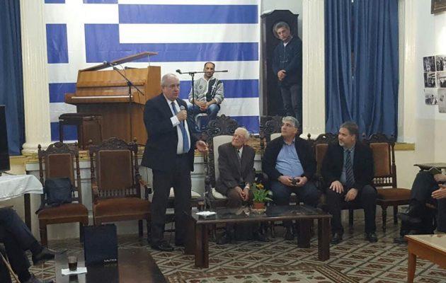 Ο Τέρενς Κουίκ συναντήθηκε με την Ελληνική Ομογένεια στα Ιεροσόλυμα