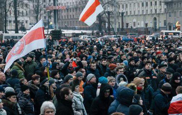 Λαϊκή οργή στη Λευκορωσία για την κυβέρνηση: «Δεν είμαστε σκλάβοι»