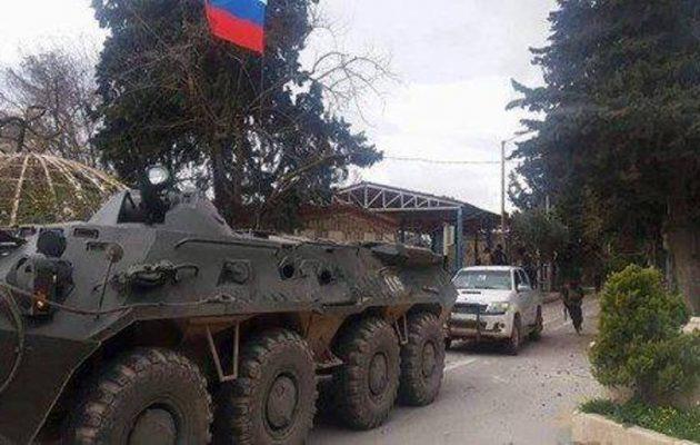Ο Πούτιν την «έκανε» χοντρά στον Ερντογάν – Ρώσοι στρατιώτες αναπτύχθηκαν στο πλευρό των Κούρδων