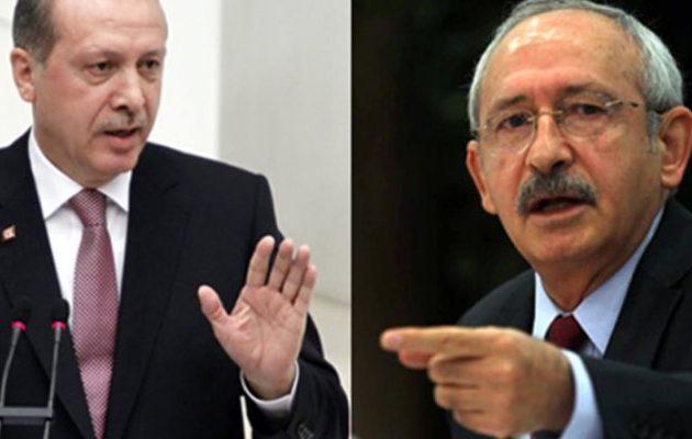 Τουρκία: Κεμαλιστές κατά Ερντογάν για τις χρυσές τσάντες της Εμινέ