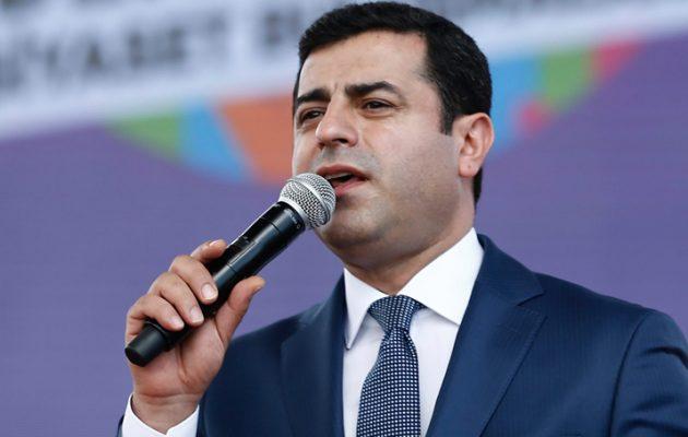 Σταμάτησε την απεργία πείνας ο φυλακισμένος ηγέτης των Κούρδων Ντεμιρτάς