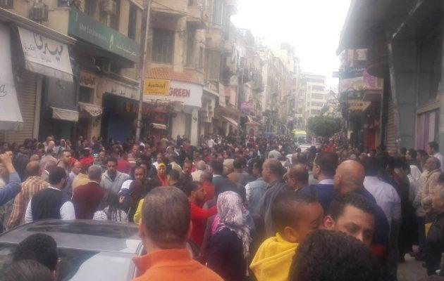 Έκρηξη βόμβας και σε δεύτερη εκκλησία στην Αίγυπτο – Χτυπήθηκε ο Άγιος Μάρκος στην Αλεξάνδρεια