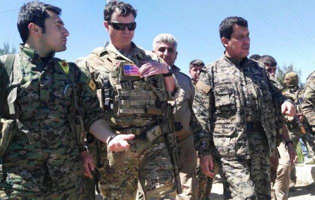 """""""Έμπλεξε"""" ο Ερντογάν – Αμερικανοί στις κουρδικές εγκαταστάσεις που βομβάρδισε η Τουρκία (φωτο)"""