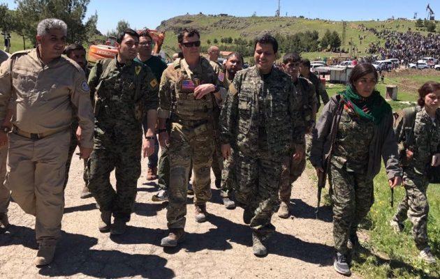 Οργή ΗΠΑ για τον βομβαρδισμό των Κούρδων συμμάχων τους από τους ισλαμιστές της Άγκυρας