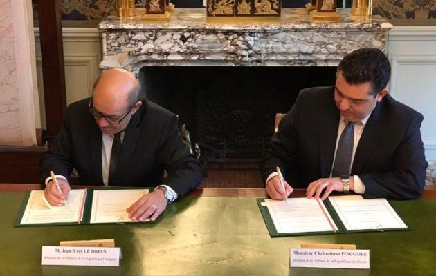 Επικαιροποίησαν και αναβάθμισαν την αμυντική τους συνεργασία Κύπρος-Γαλλία