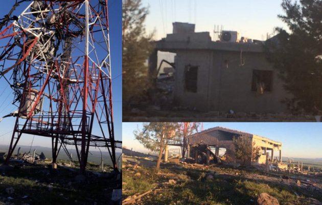 Τουρκικά αεροπλάνα βομβάρδισαν τον ραδιοφωνικό σταθμό των Κούρδων της Συρίας