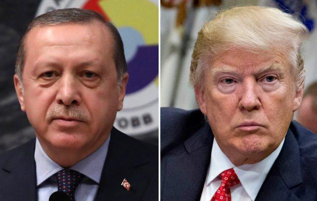 Πρωτοφανές διπλωματικό βατερλό της Τουρκίας με τις ΗΠΑ – Πώς και γιατί ο Τραμπ «τέλειωσε» τον Ερντογάν!