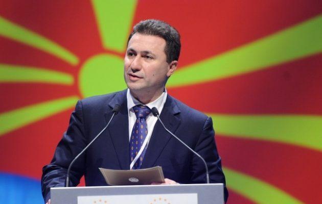 Ο Γκρουέφσκι των Σκοπίων θα επαναφέρει τα ψευδομακεδονικά αγάλματα εάν τα απομακρύνει ο Ζάεφ