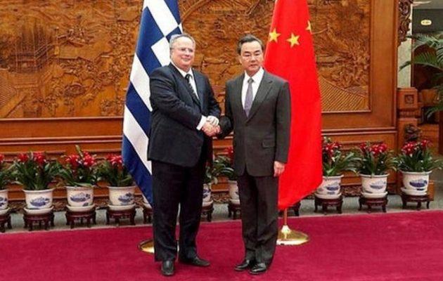 Με τους υπουργούς Εξωτερικών Κίνας και Ιράν θα συναντηθεί ο Κοτζιάς στο ΥΠΕΞ