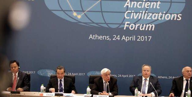 Παυλόπουλος στο Φόρουμ Αρχαίων Πολιτισμών: Δεν θα περάσουν τα υπολείμματα του ναζισμού