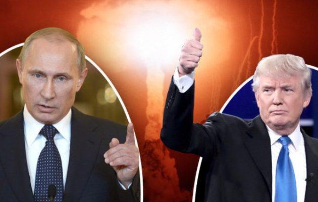 «Συμμετρική απάντηση» στην πρόσφατη πυραυλική δοκιμή των ΗΠΑ διεμήνυσε ο Πούτιν