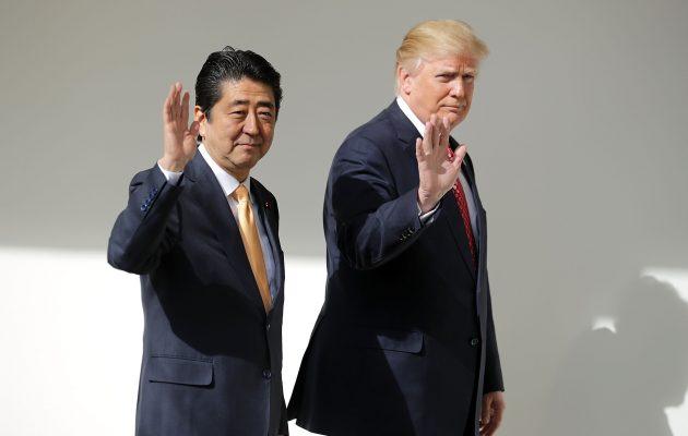 Τετ-α-τετ Τραμπ με τον Ιάπωνα πρωθυπουργό στις 26 Σεπτεμβρίου