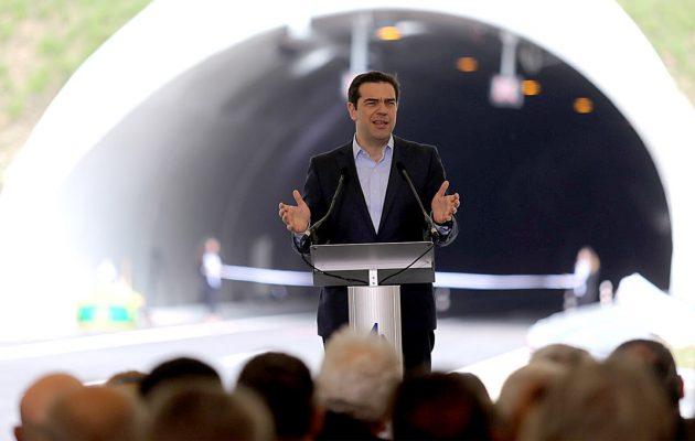 Ο Τσίπρας κόβει την κορδέλα στον νέο αυτοκινητόδρομο Κορίνθου – Πατρών