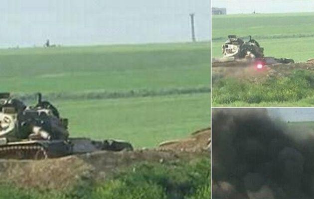Οι Κούρδοι της Συρίας τσάκισαν τους Τούρκους: Ανατίναξαν τέσσερα τουρκικά τανκς (φωτο+βίντεο)