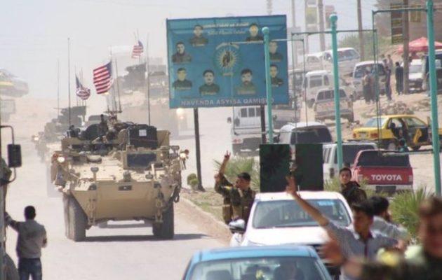 Ο αμερικανικός στρατός παίρνει θέσεις απέναντι στους Τούρκους σε Συρία και Ιράκ (βίντεο)