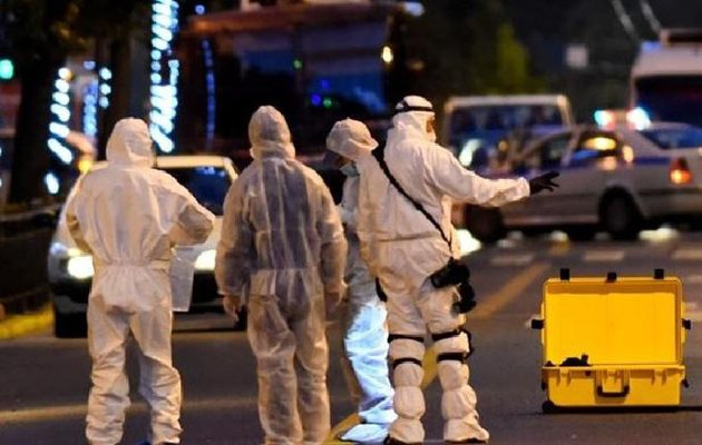 Έκρηξη βόμβας σε υποκατάστημα της Eurobank στο κέντρο της Αθήνας (βίντεο)
