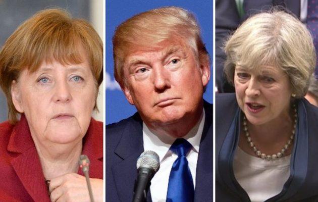 «Εχθρική» δήλωση Μέρκελ για Τραμπ-Μέι-Πούτιν – Καλεί τους Ευρωπαίους σε ετοιμότητα
