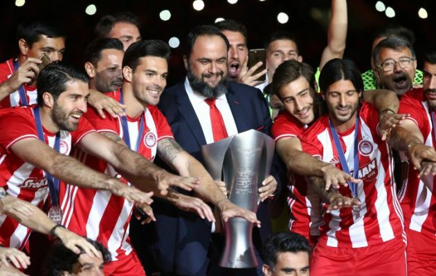 Μαρινάκης: «Υπομονή να έχει ο Σαββίδης να μας βλέπει να πανηγυρίζουμε»
