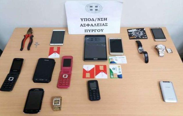 Εξαρθρώθηκε εγκληματική οργάνωση διαρρηκτών στην Ηλεία