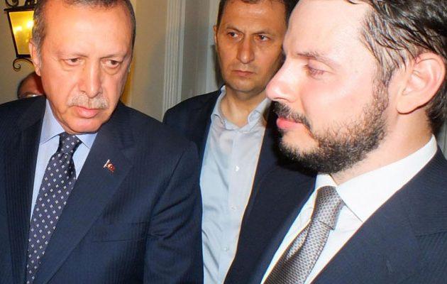 Η τουρκική Aktif Bank του γαμπρού του Ερντογάν κατηγορείται ότι «ξέπλενε» χρήμα