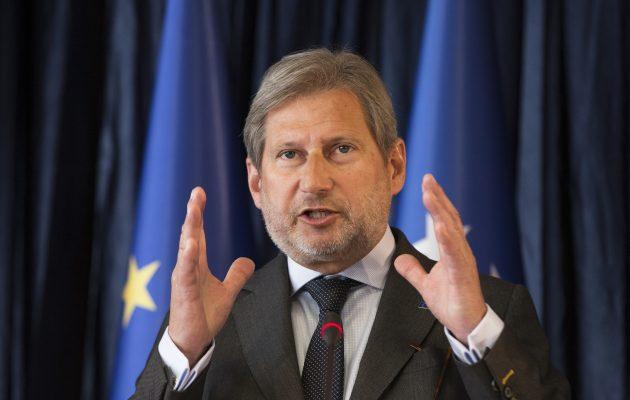Η νίκη Πεντάροφσκι στη Βόρεια Μακεδονία ανοίγει το δρόμο προς την ΕΕ προανήγγειλε ο Χαν