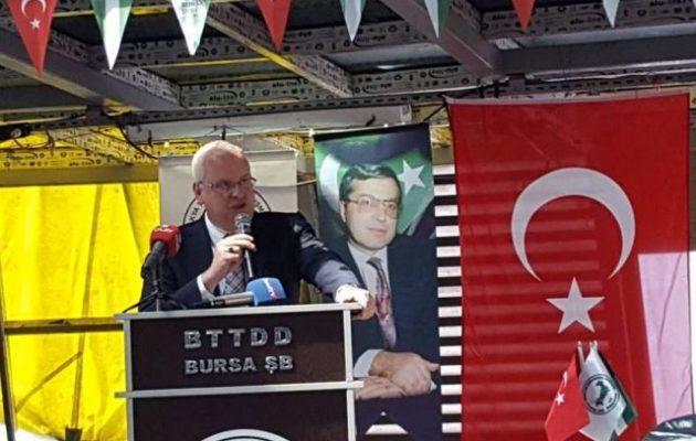 Ο Έλληνας μουσουλμάνος βουλευτής Ιλάν Αχμέτ σε τουρκοπανηγύρι της «ανεξάρτητης Θράκης»
